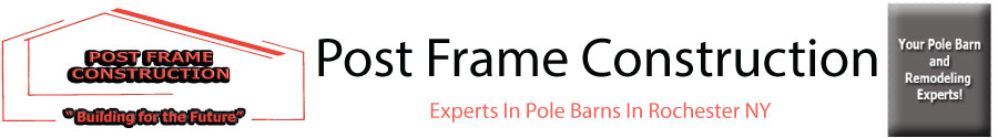 Post Frame Construction Logo